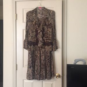 Sunny Leigh Jacket/Skirt Set, TOP IS XL